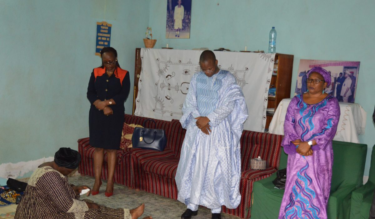 Le PCA de la MUNDI aux côtés des familles éplorées