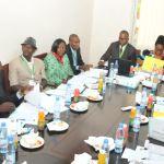 Réunion de coordination avec les CRS